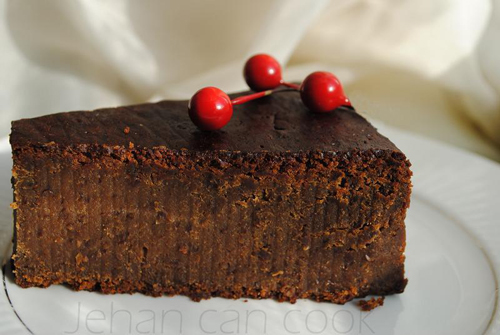 Guyanese Black Fruit Cake