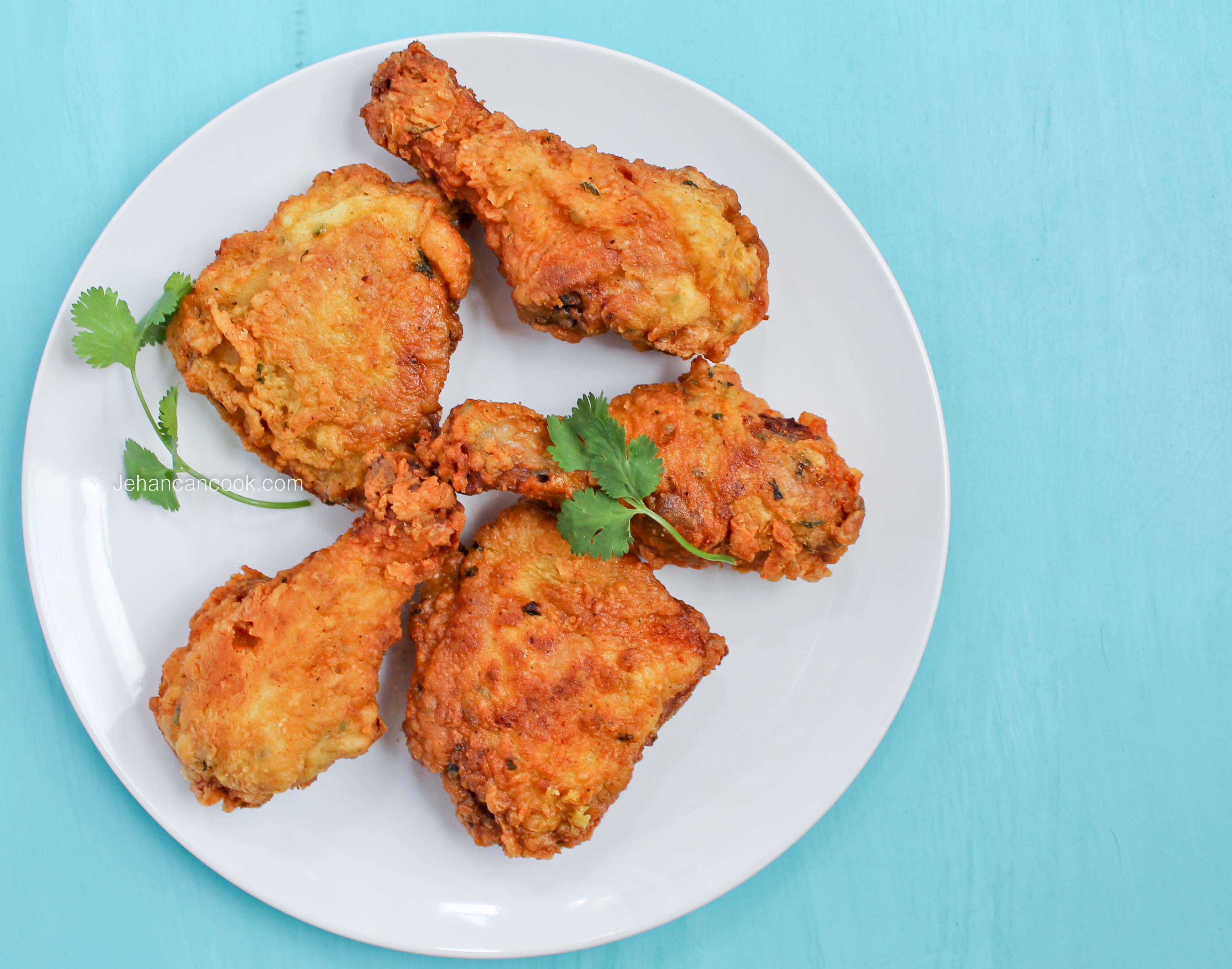 how to make fried curry chicken