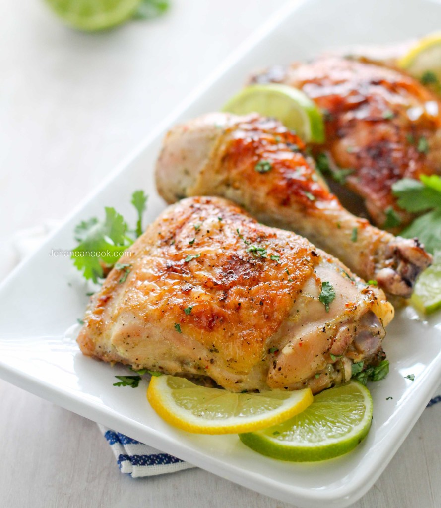 Garlic Roast Chicken-1-2