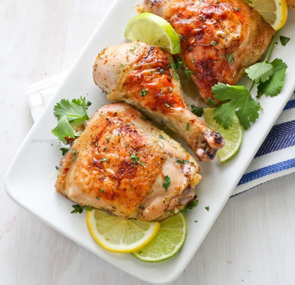 Garlic Roast Chicken-1-4