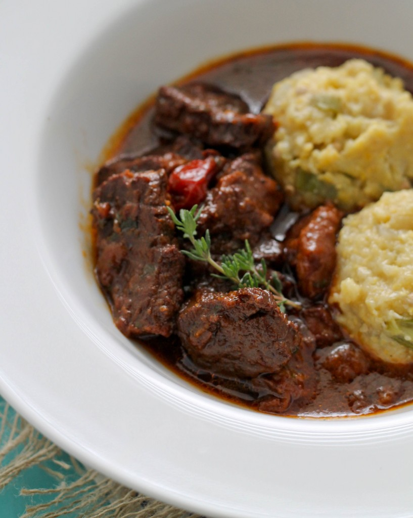 Beef Stew and cou cou (2)