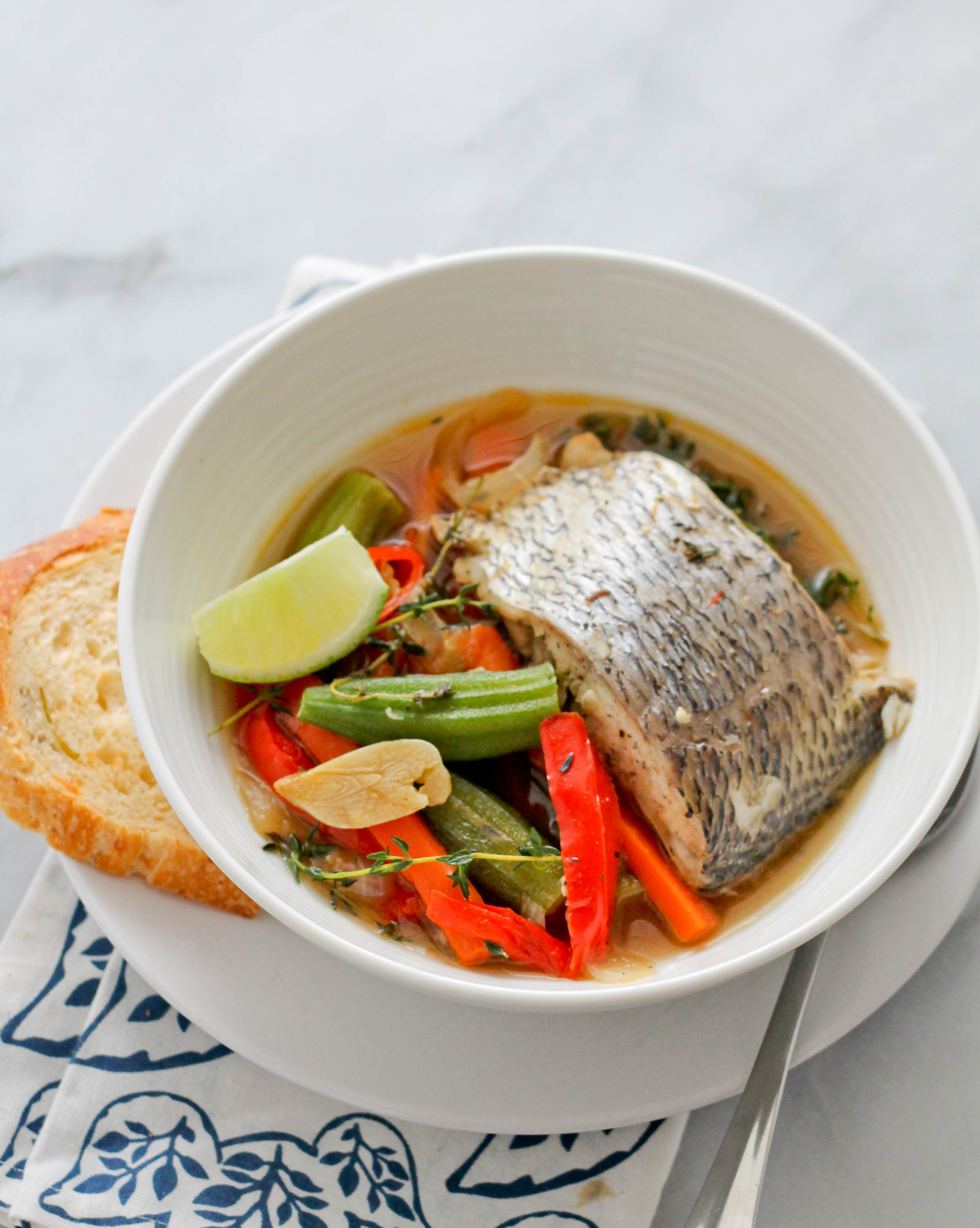 Caribbean steamed fish jehan can cook for Steam fish recipe