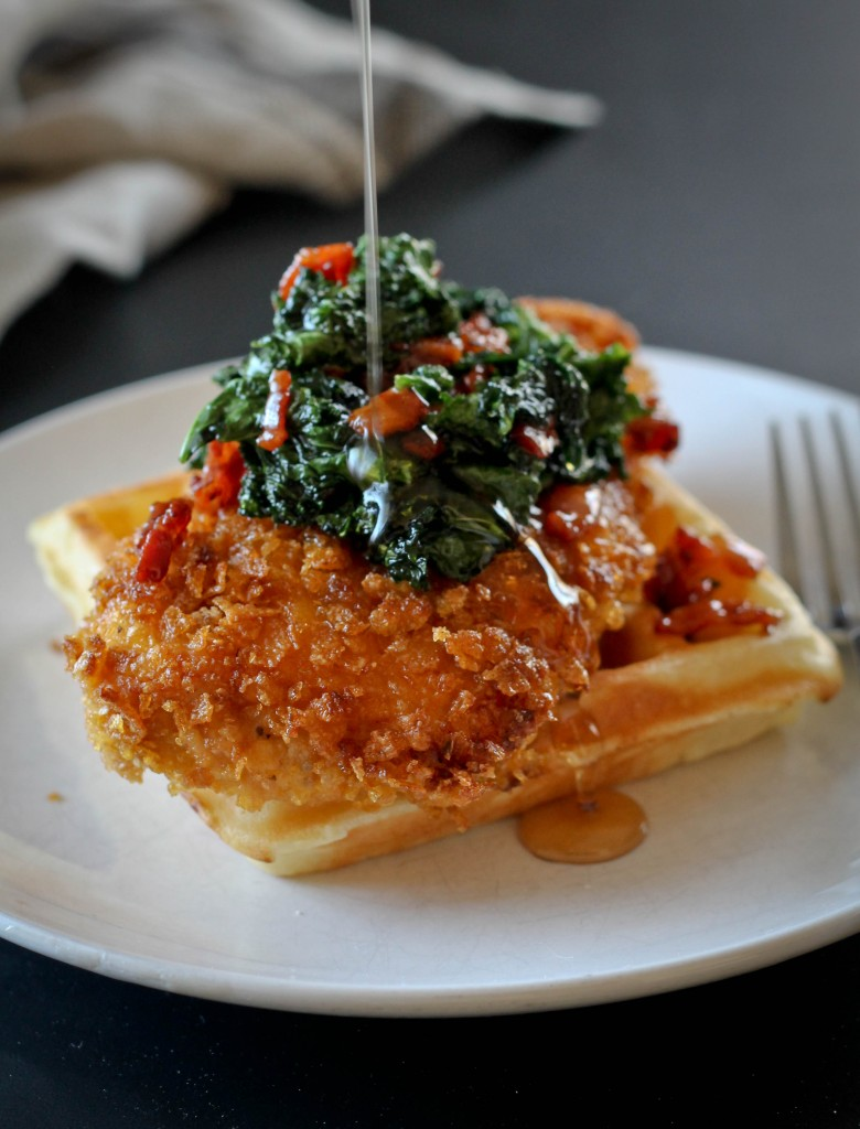 Chicken and Waffles (1 of 1)