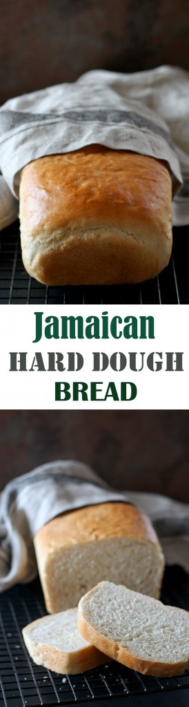 Learn how to make this super simple Jamaican Hard Dough Bread