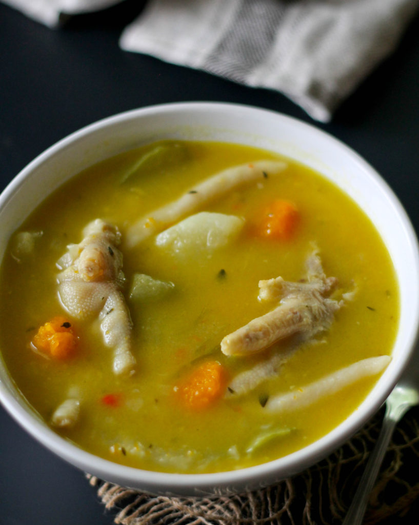 Chicken Foot Soup Jehan Can Cook