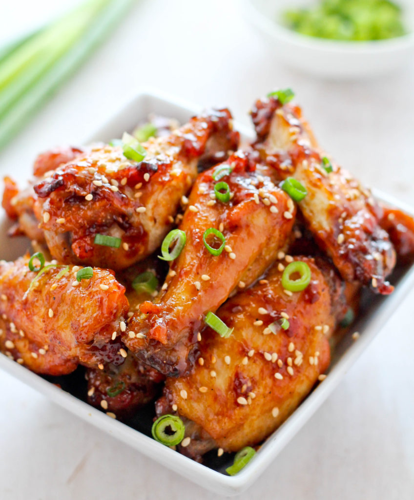 STICKY TERIYAKI WINGS