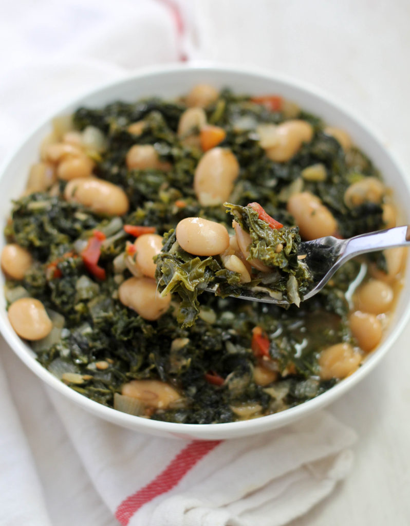 KALE AND BUTTER BEAN STEW
