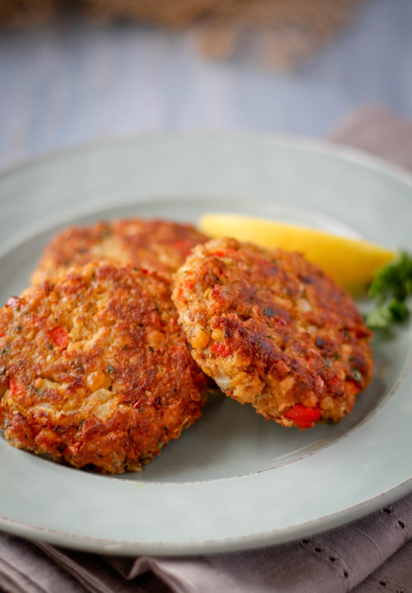 Tuna and Chickpea Cakes