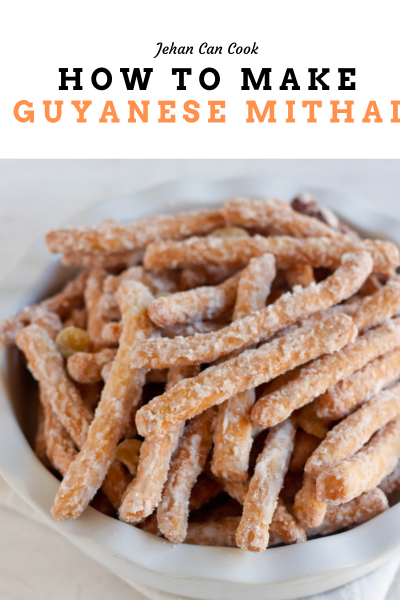 How to make Guyanese Mithai